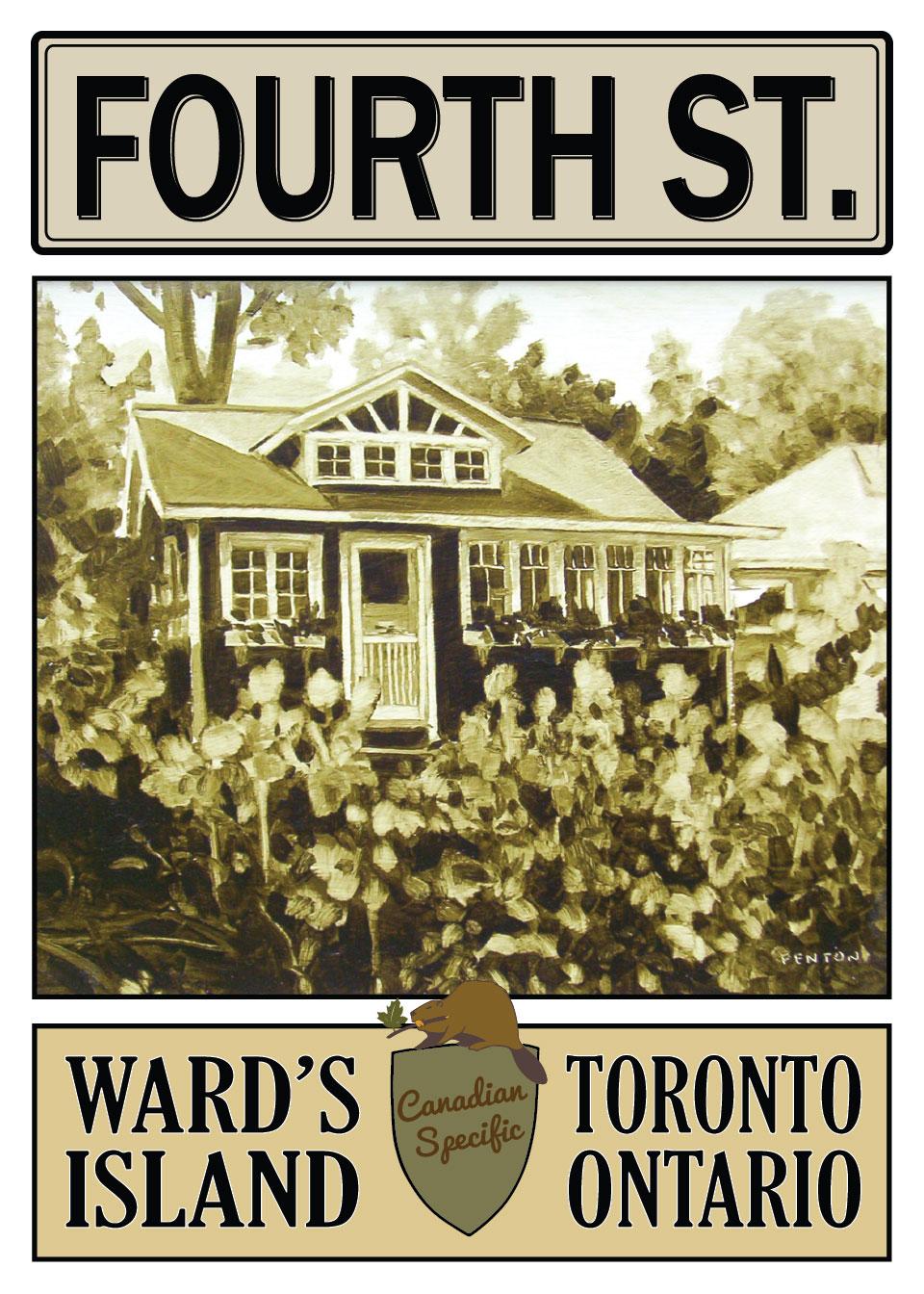22 Fourth St, Toronto Island