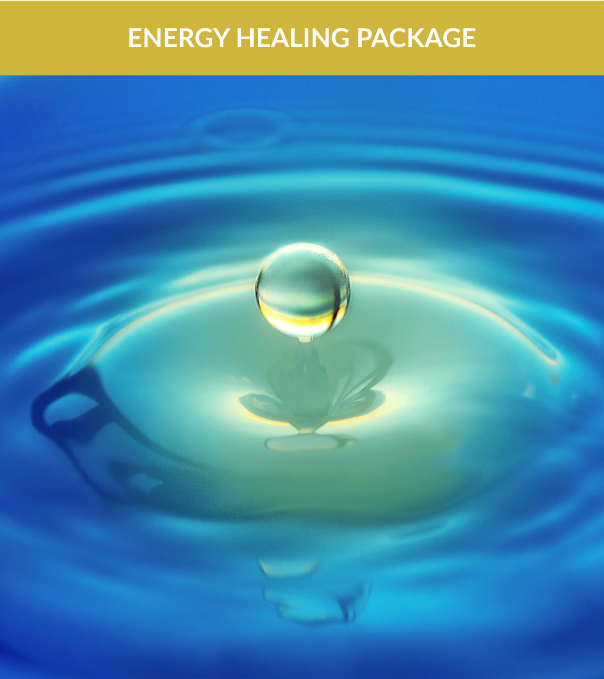 Energy Healing Package