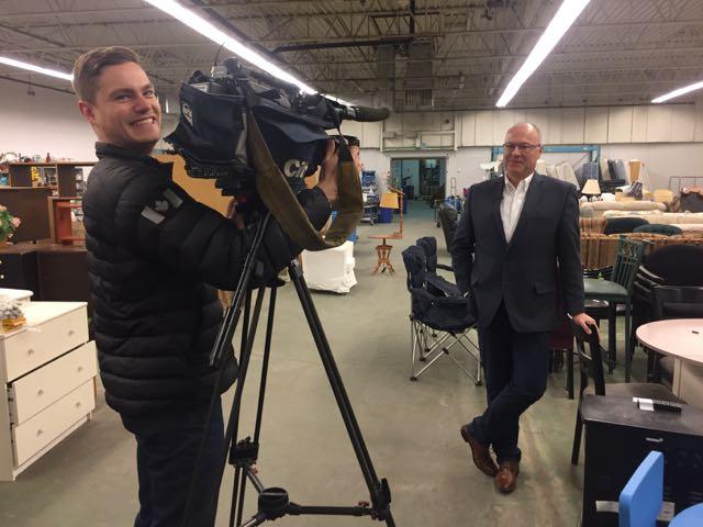 CEO Randy Hounjet interviewed by City Tv