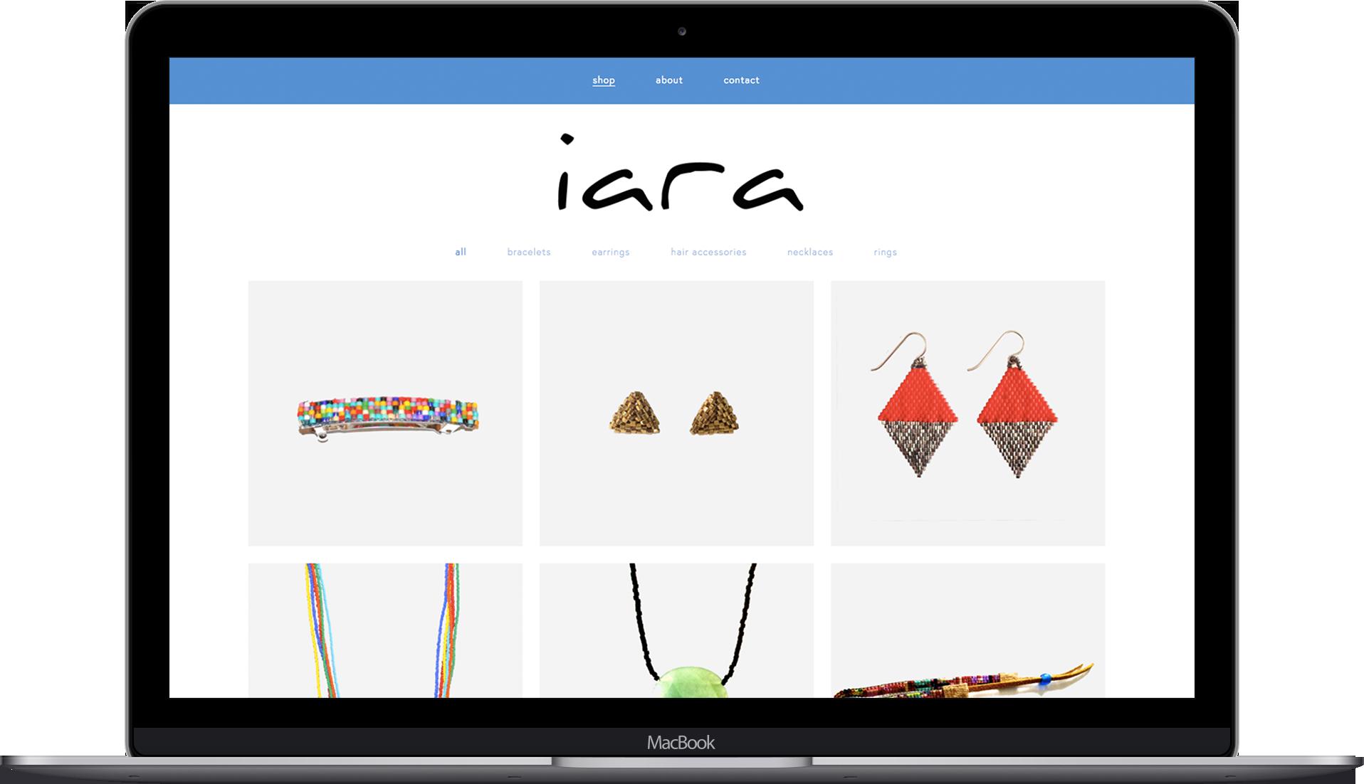 Laptop Mockup for IARA