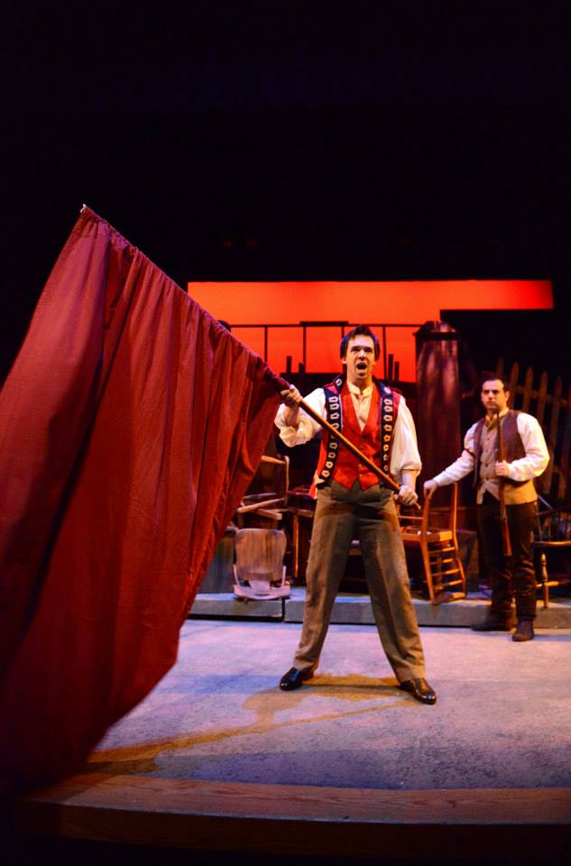 Les Misérables  - Interlakes Summer Theatre, 2013 Photo: Robert John Kozlow