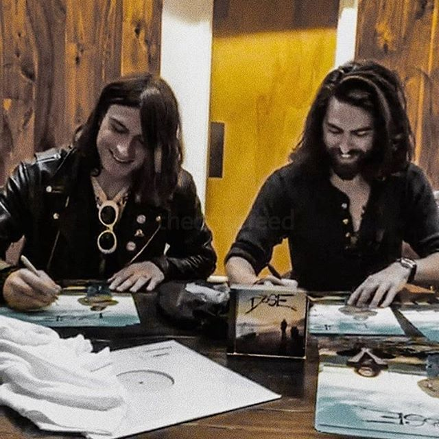 Who chatted with us on the live stream yesterday? We've got dozens of signed posters, CDs and shirts going out 😬