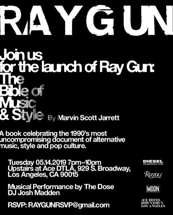 Performing for #RAYGUN on May 14th! 🤘🏼