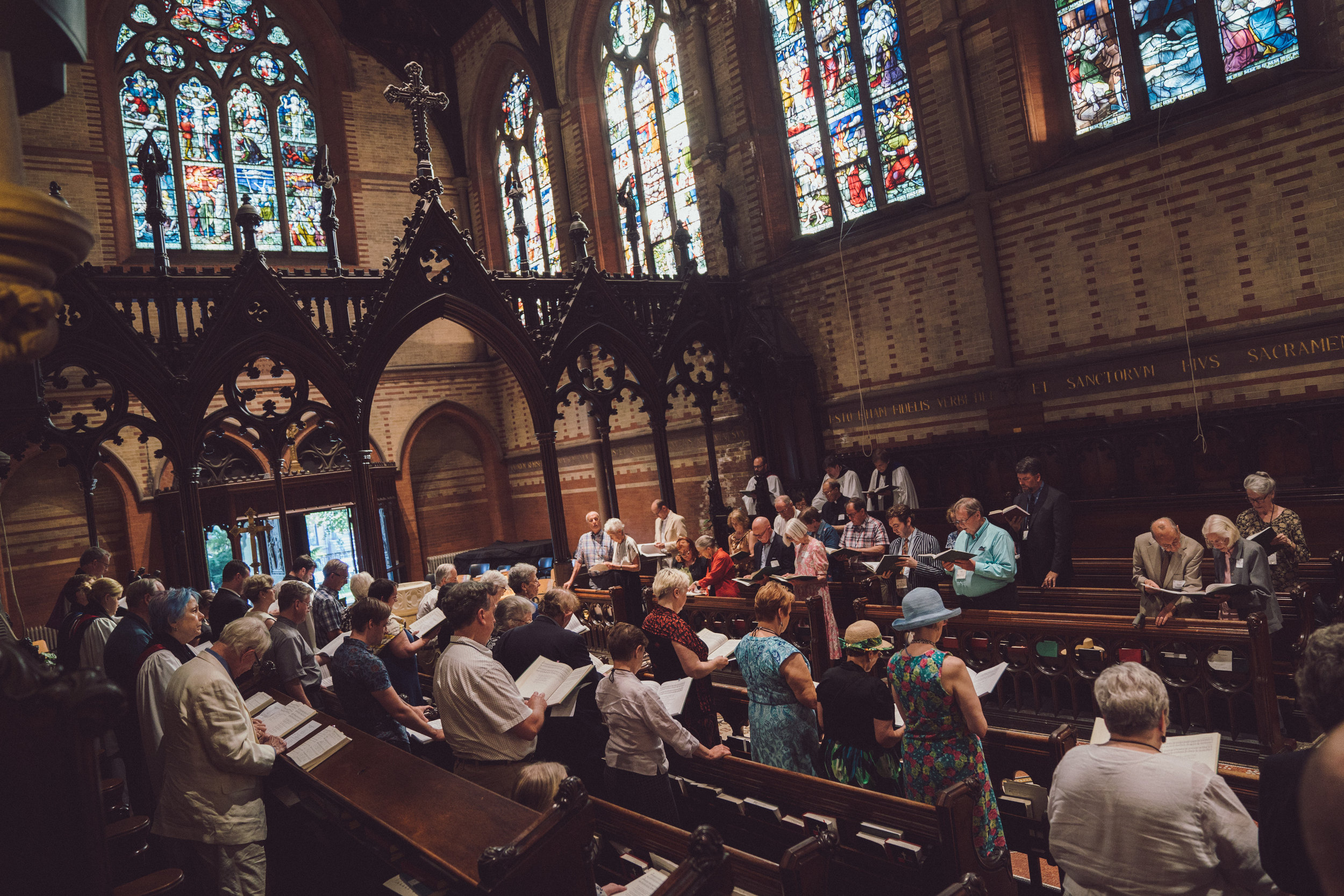 Mass at The General Seminary in New York NY. Photo by Daniel Lee.