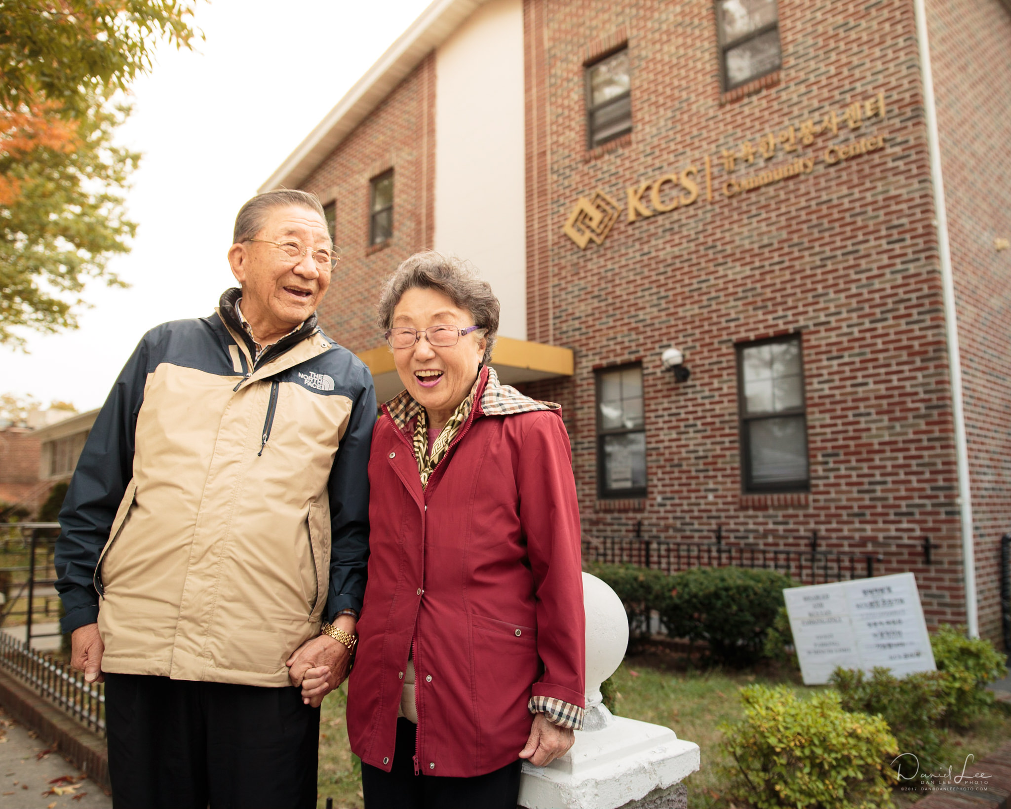 Feature image for a campaign fundraising for services for Korean American seniors. Shot for Korean Community Services of Metropolitan New York. Photo by Daniel Lee.