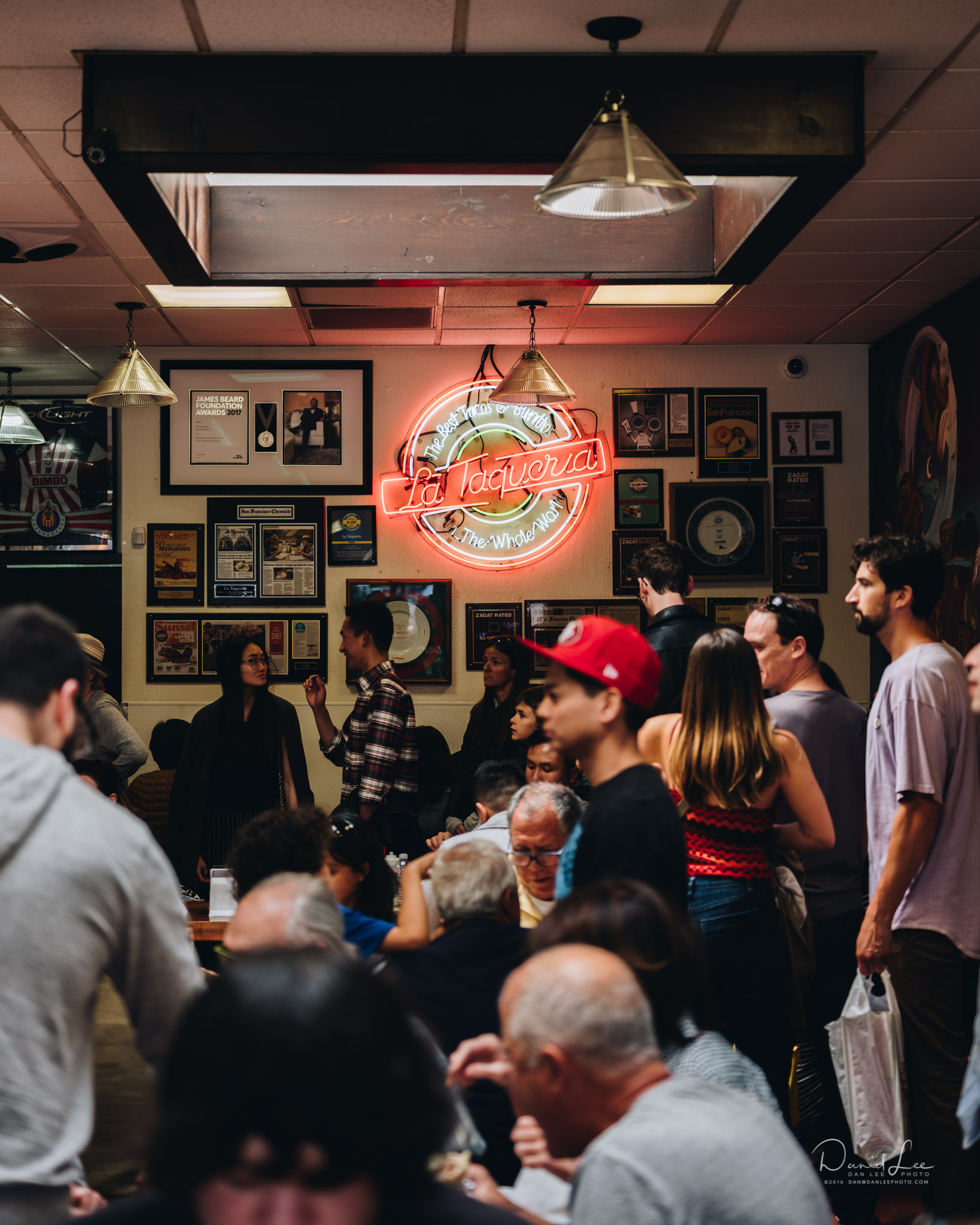 A stop to La Taqueria on Mission Street in San Francisco is a must. Photo by Daniel Lee