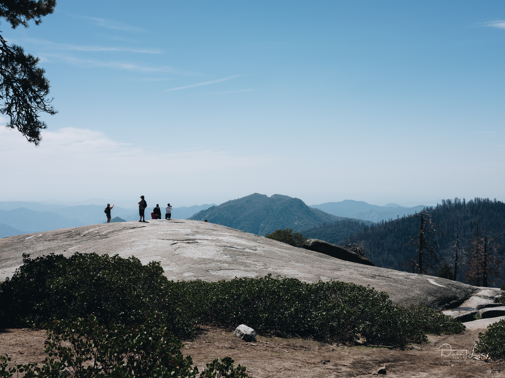 Beetle Rock in Sequoia National Park. For Pursuits with Enterprise. Photo by Daniel Lee.