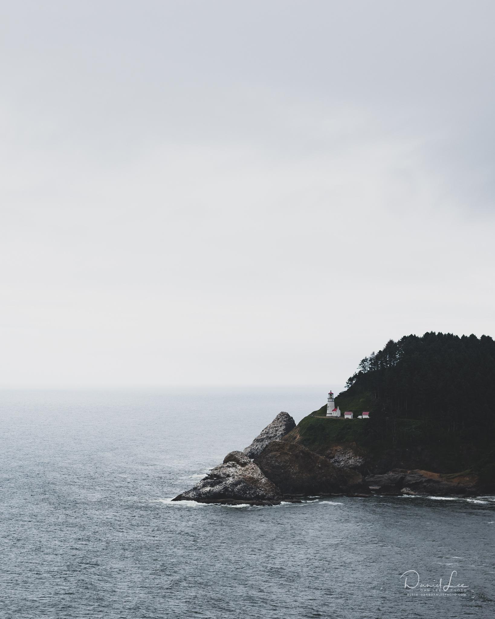 Heceta Head Lighthouse. Photo by Daniel Lee.