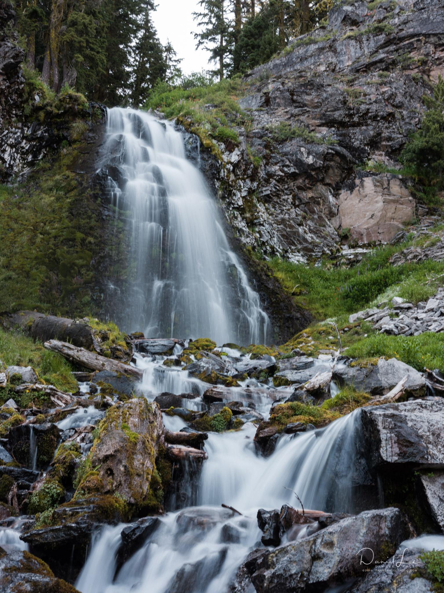 Plaikni Falls in Crater Lake National Park. Photo by Daniel Lee.