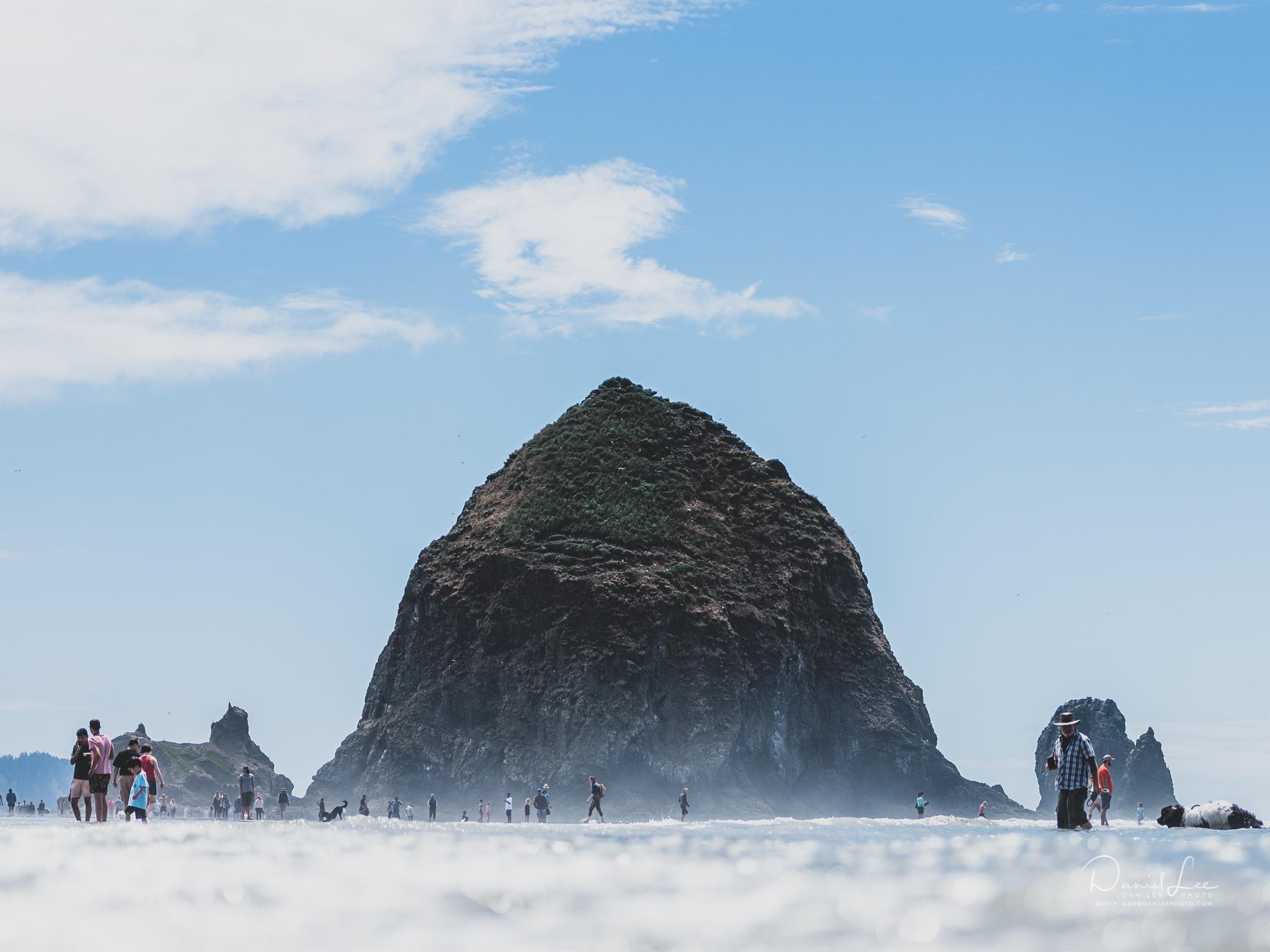 Haystack Hill, Cannon Beach, Oregon. Photo by Daniel Lee.