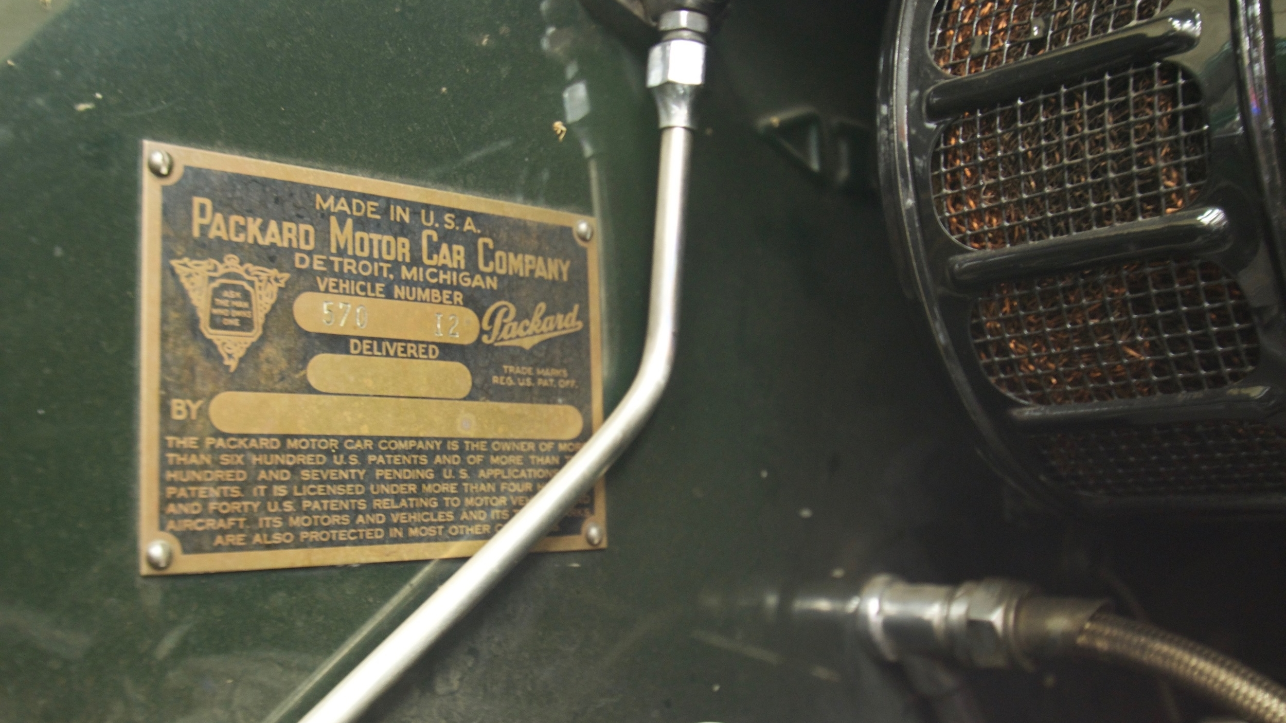 Find used rare Packard parts