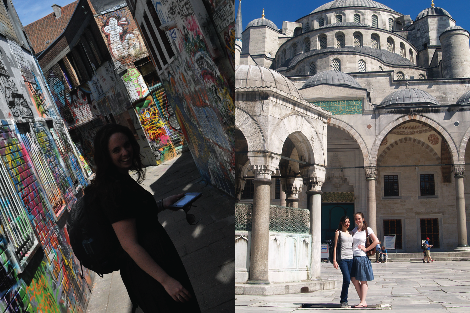 In Belgium in 2012, and in Istanbul in 2009.