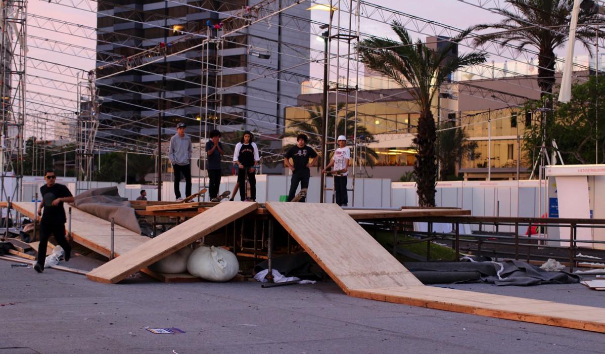 Lima Peru Skateboarding