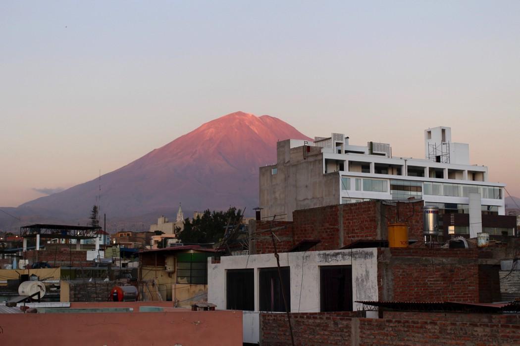 Arequipa Peru Travel Blog - Volcano - Wanderlost