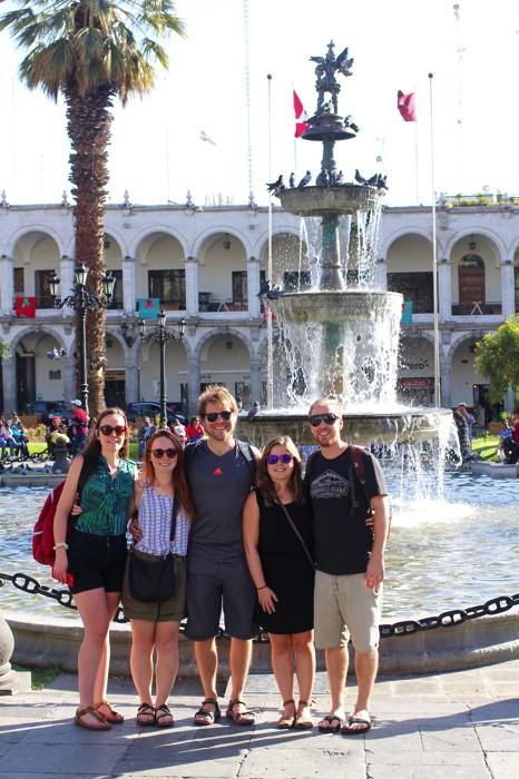 Plaza de Armas Arequipa Peru Travel Blog - Wanderlost