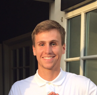 Bryce Fuemmeler, current president of the Iota Mu Chapter