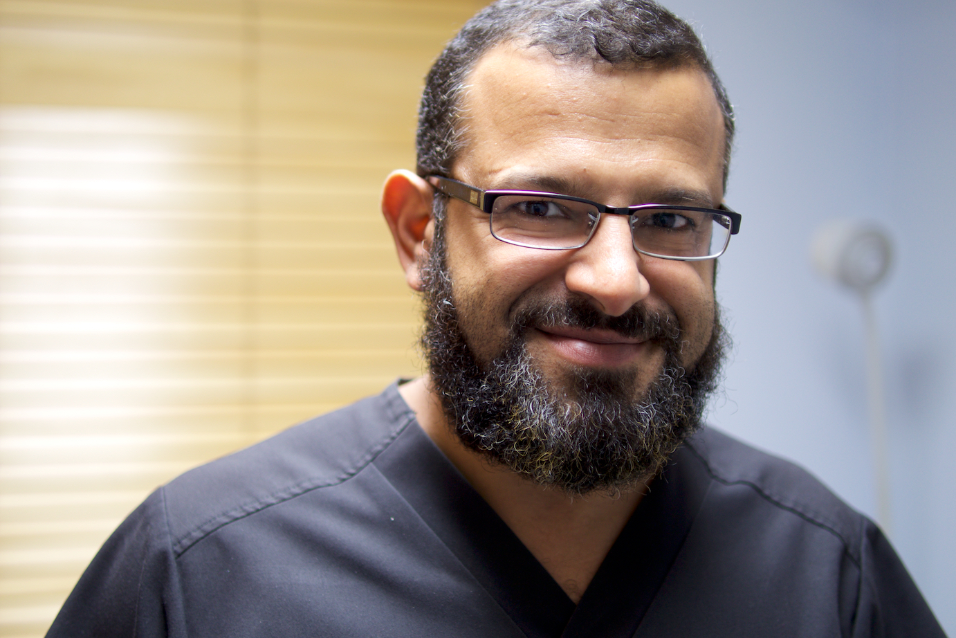 Dr. Islam Tafish, volunteer neurologist at MASS