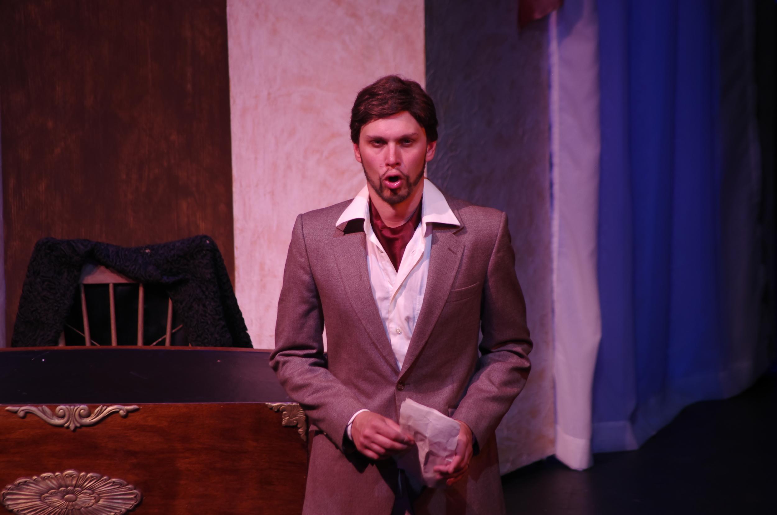 The Count in  Le nozze di Figaro, Highlands Opera Studio