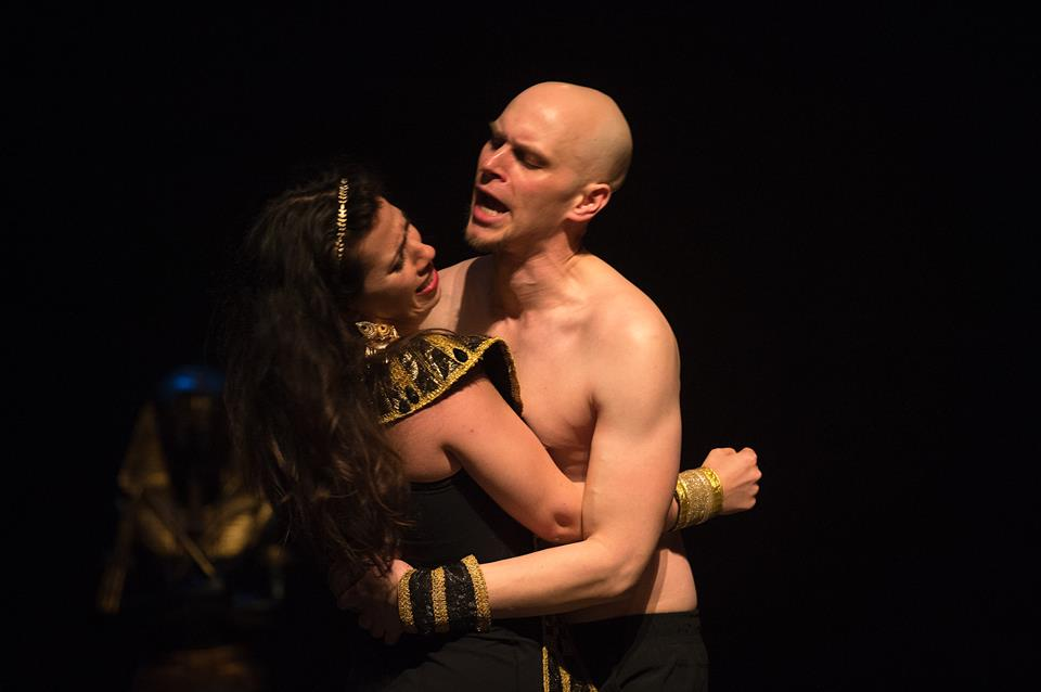 With Lucia Cesaroni in  Isis and Osiris , Opera in Concert