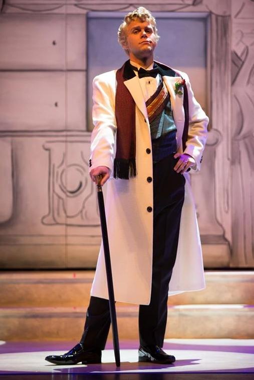 As Dandini in  La Cenerentola with Edmonton Opera