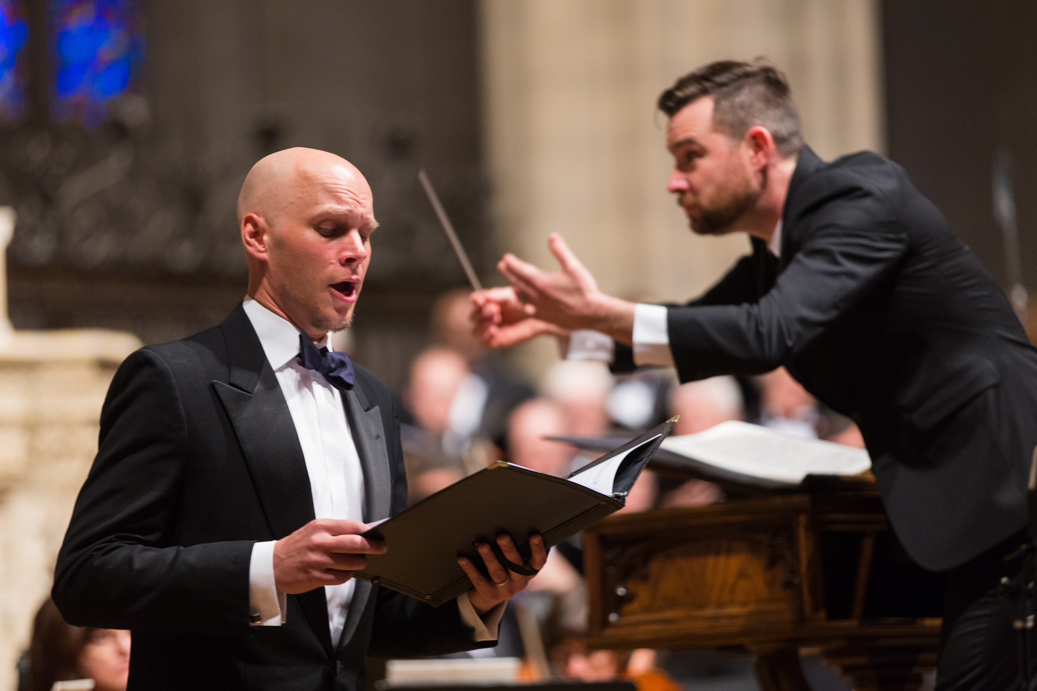 Vaughan Williams     Five Mystical Songs   with conductor Patrick DupréQuigley at the National Cathedral, Washington D.C.