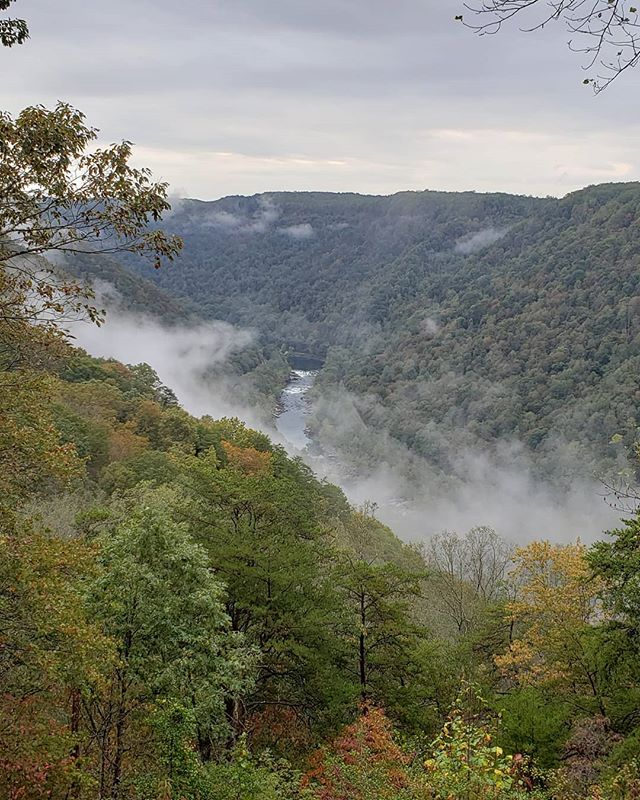 Sightseeing on the way home from Tennessee. New River Gorge, West Virginia.