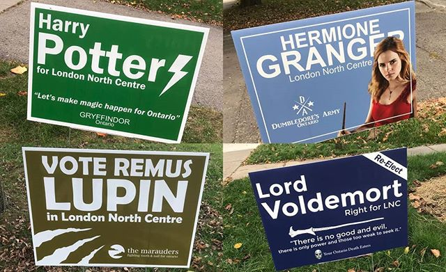 I don't know about you, but I'm voting Grainger in this election. #technocracy #AnyoneButVoldemort