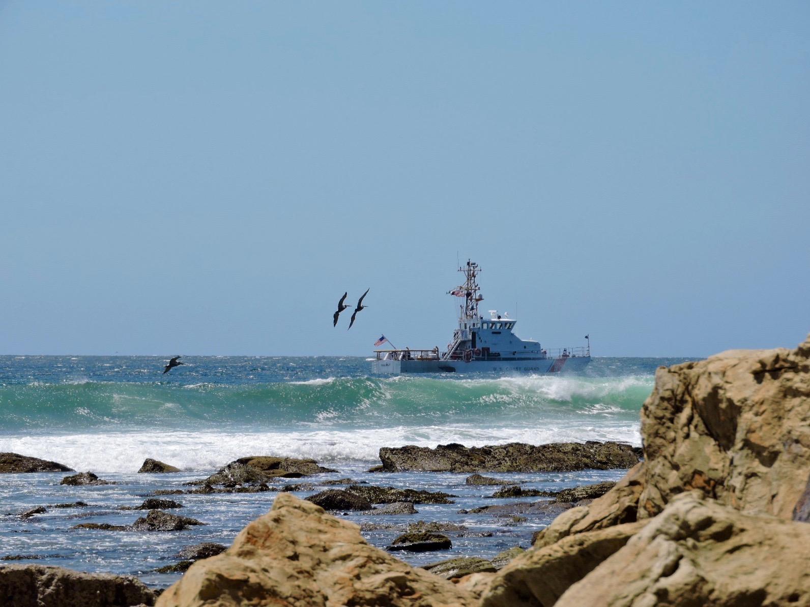 Coast guarding