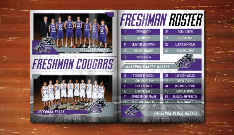 media guide example from campus box