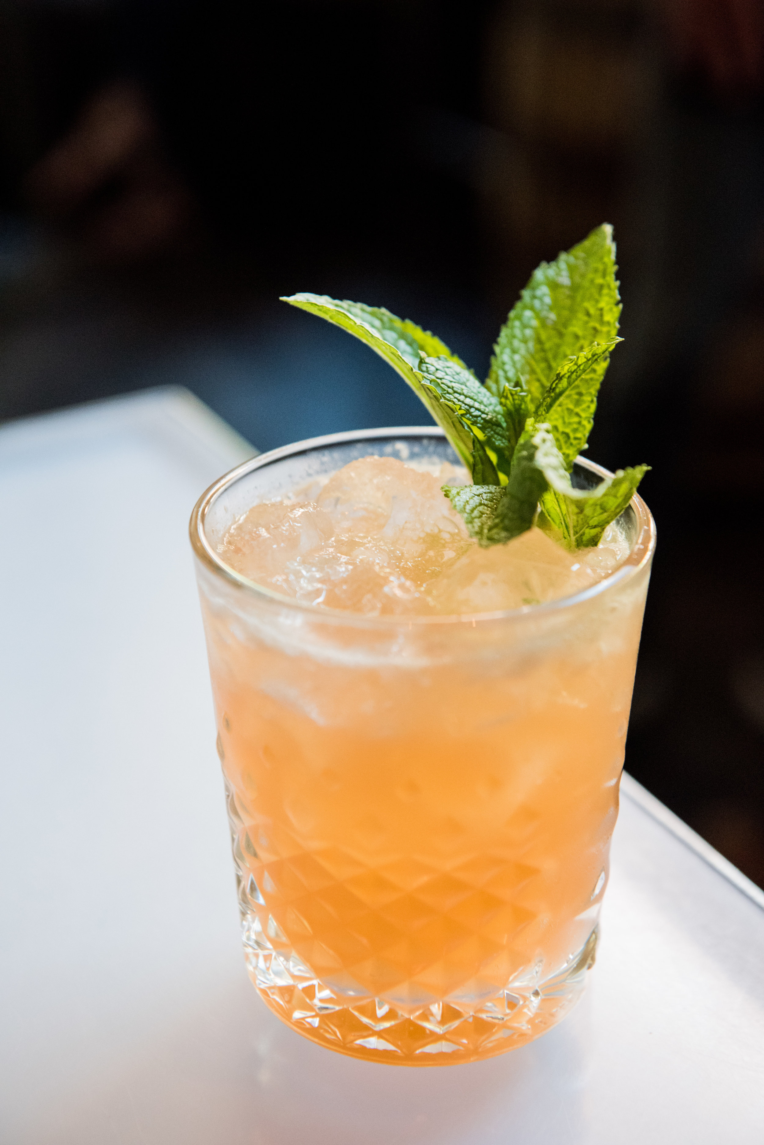 Jesse's Girl - CH London Dry Gin, Strawberry, Mint, Celery(Refreshing with a savory finish)