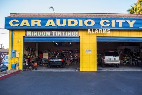 Car Audio City in National City, San Diego