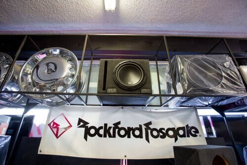 Rockford Fosgate Audio Systems at Car Audio City