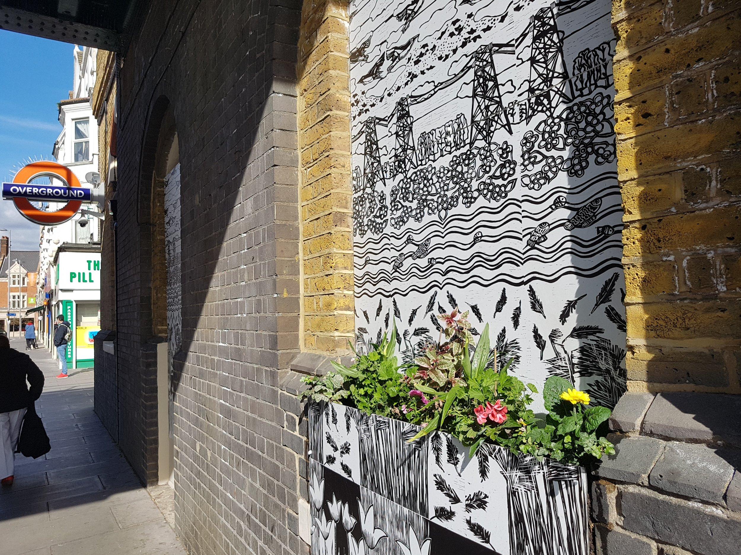 Mural for St James, London Overground.jpg