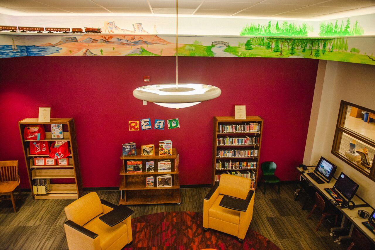 Winterset Public Library Children's Mural