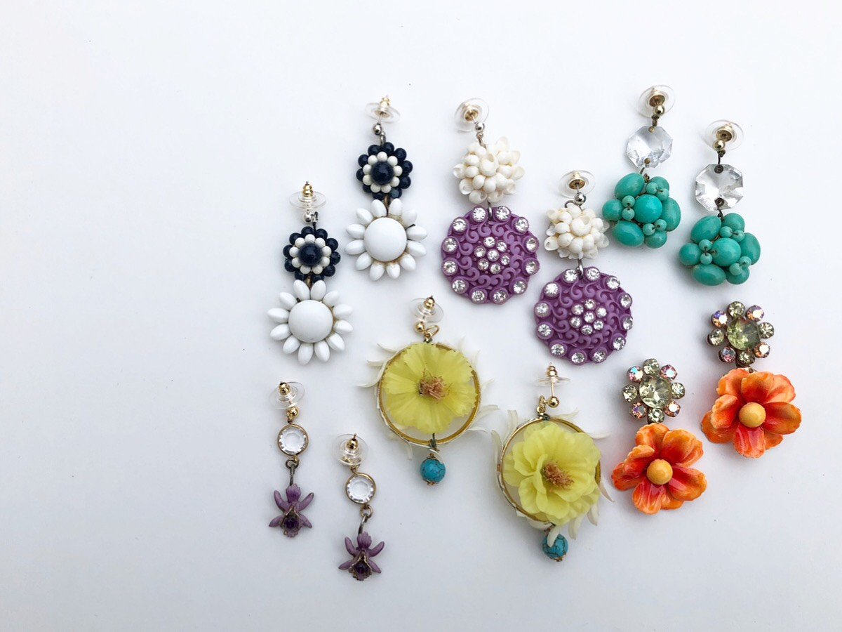 Vintage Inspired Statement Earrings