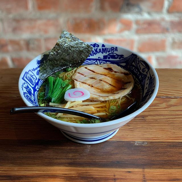 The weather outside? Frightful. A bowl of our classic Torigara chicken ramen? Quite delightful. Join us for dinner at @nakamuranyc !