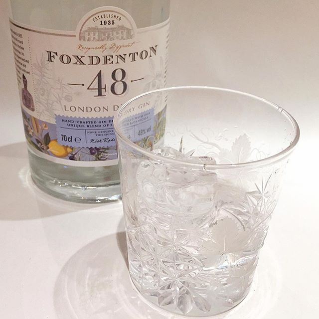 Lemon? Cucumber? Raspberry? How about nothing. Foxdenton 48 is your new favourite. Viscous, almost oily, this is one of the few London Dry Gins that can be drunk neat, over ice. *@foxdentonestate **too good for the neighbours
