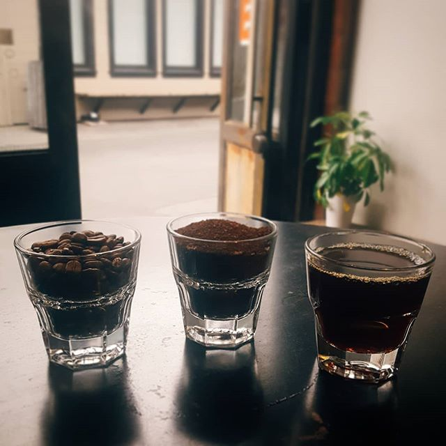 Come join us Thursday the 20th at 10 a.m. for a cupping of @sightglass coffees with the fabulous @angela__michelle!