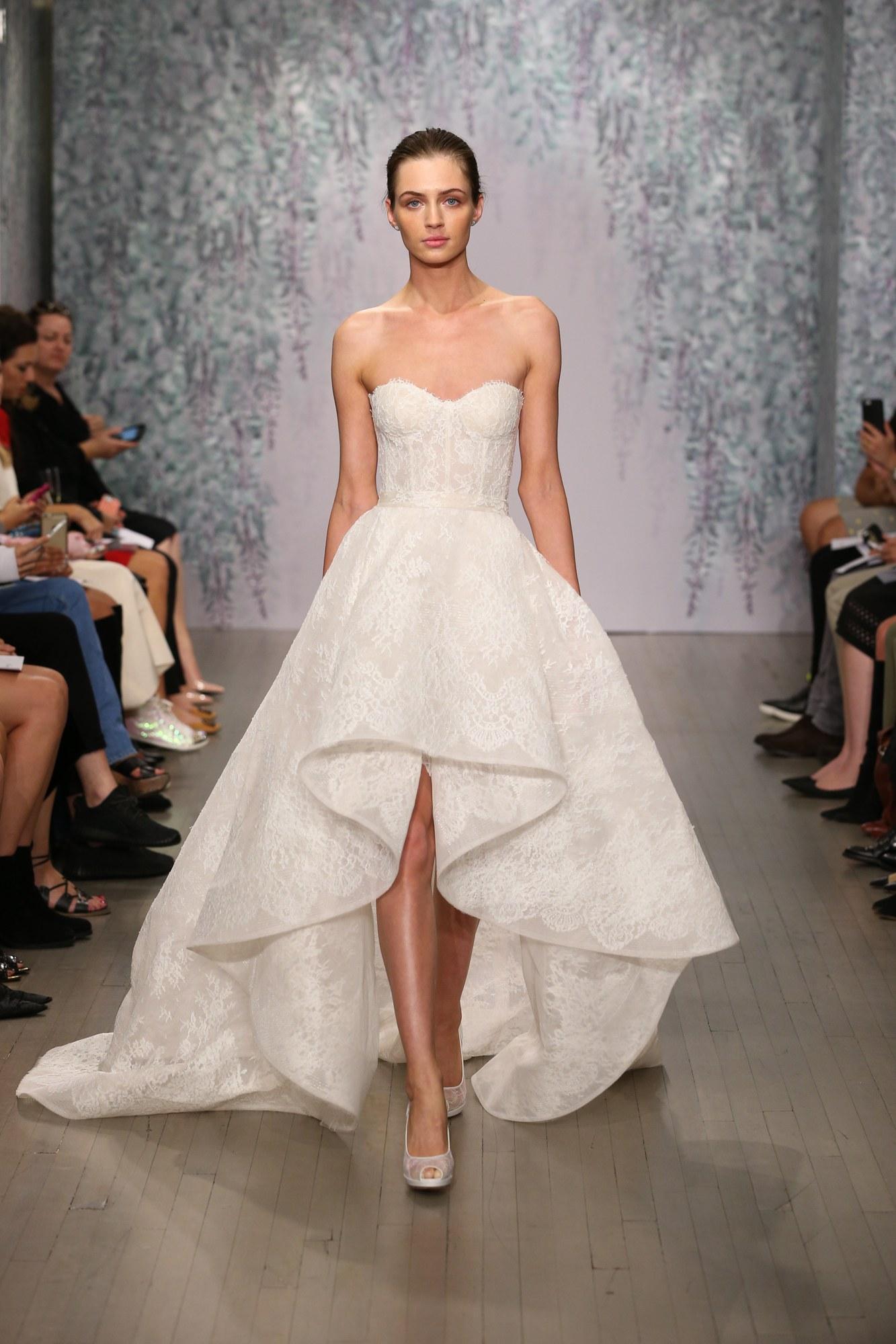 Monique Lhuillier Reception Dress