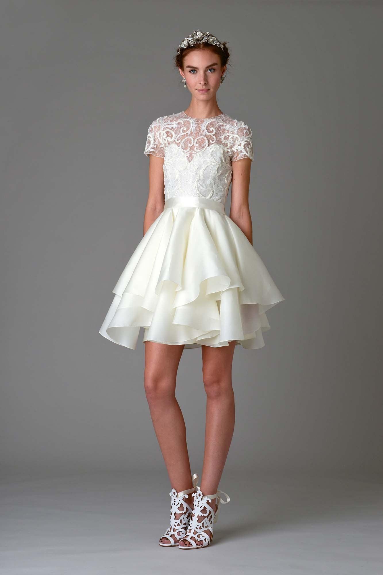 Marchesa Reception Dress