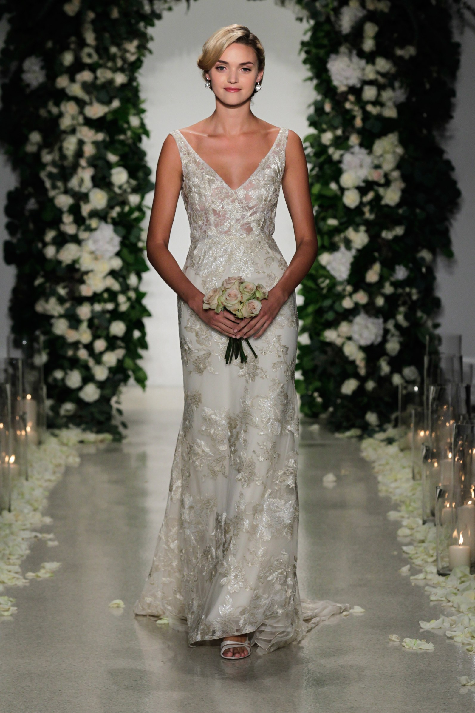 Anne Barge  Reception Dress