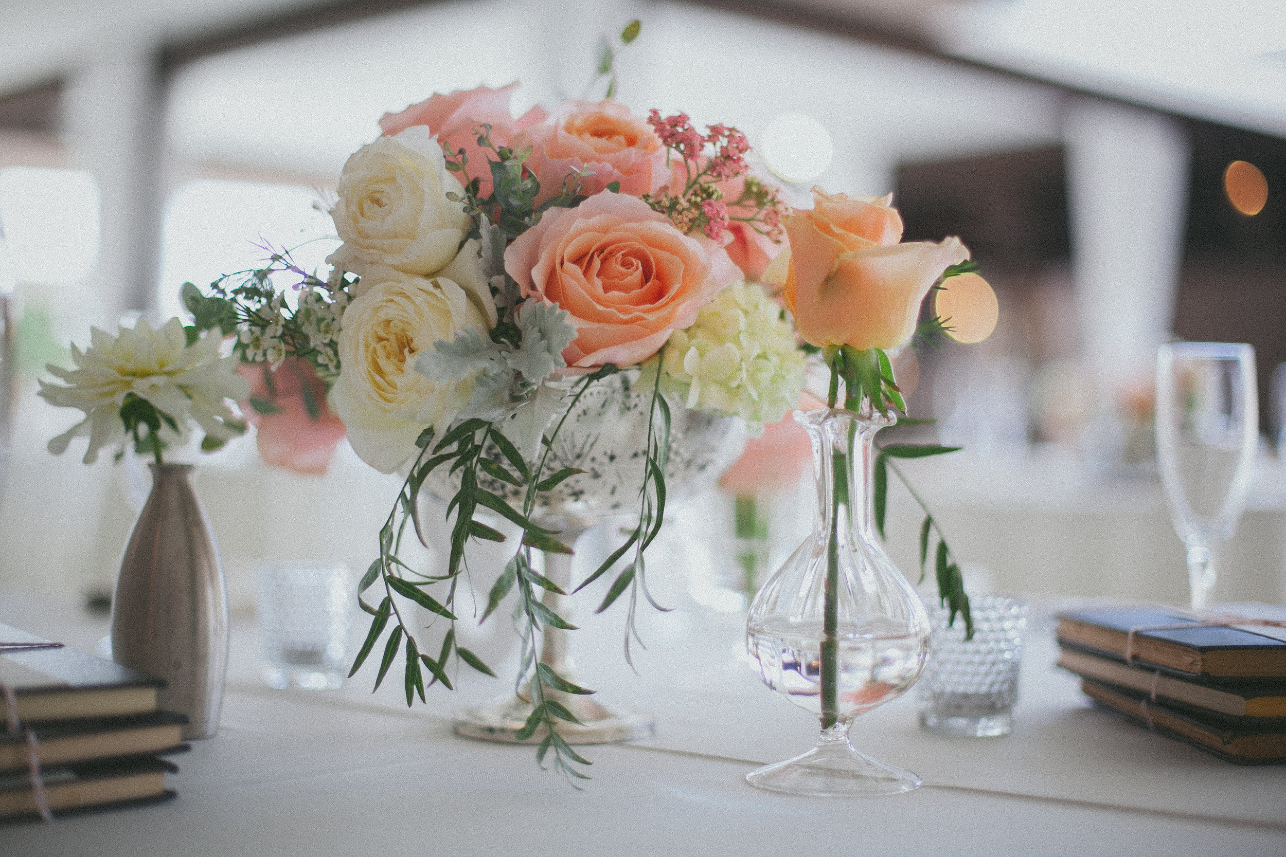 Photo by One Love Photo, Flowers by Christopher Flowers