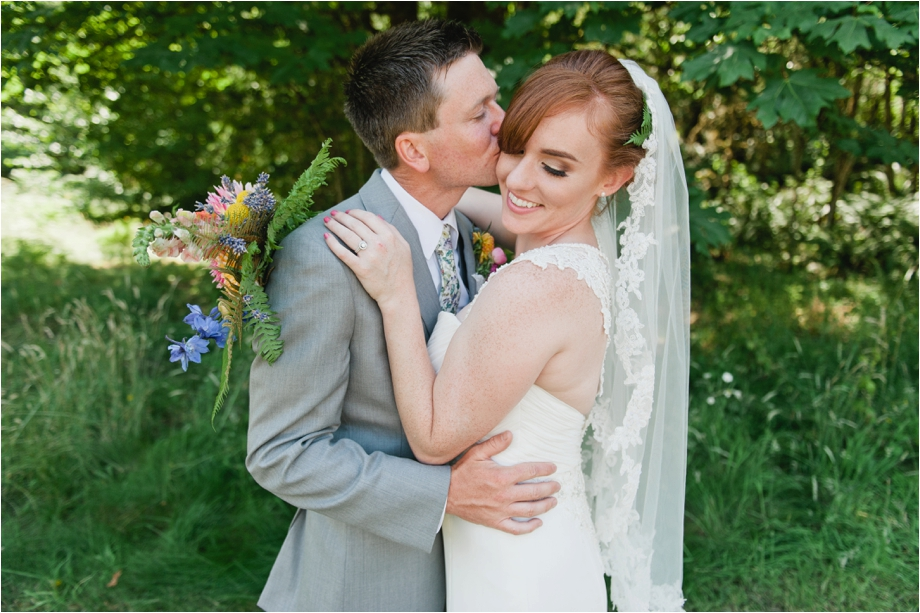 Garden Party Wedding Featured on South Sound Bridal