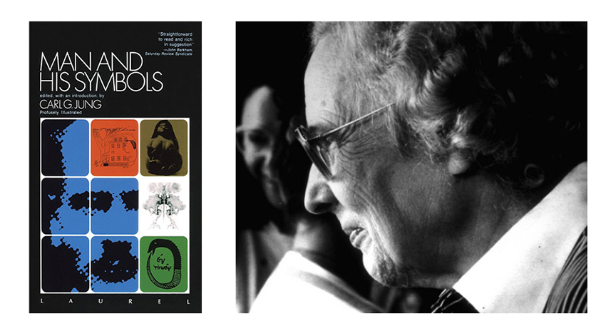 Jungian psychologist Marie-Louise von Franz, and Carl Jung's popular book about images from the subconscious.