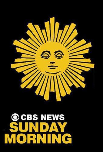 Sun face logo of CBS Sunday Morning show that inspired my sun face decanter design.