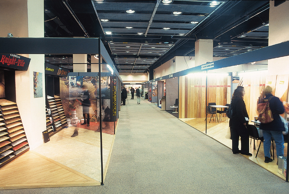 Sample Exhibition Layout