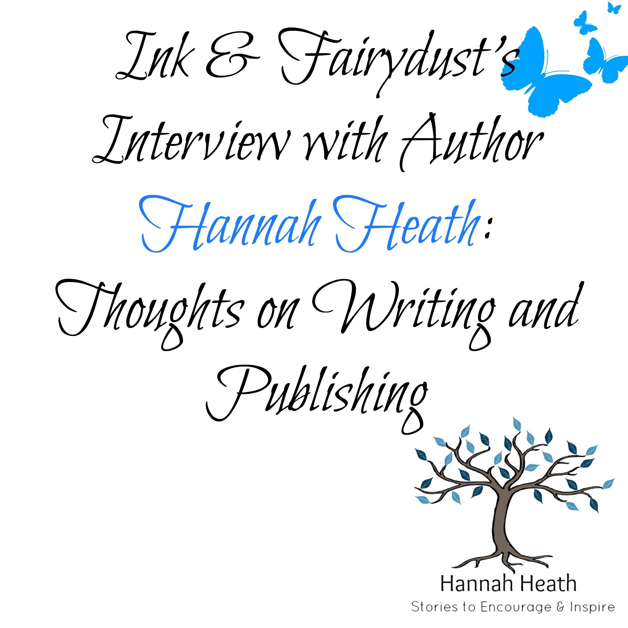 Author Interview with Hannah Heath