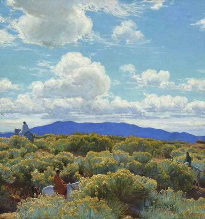 E. Martin Hennings' Through the Greasewood