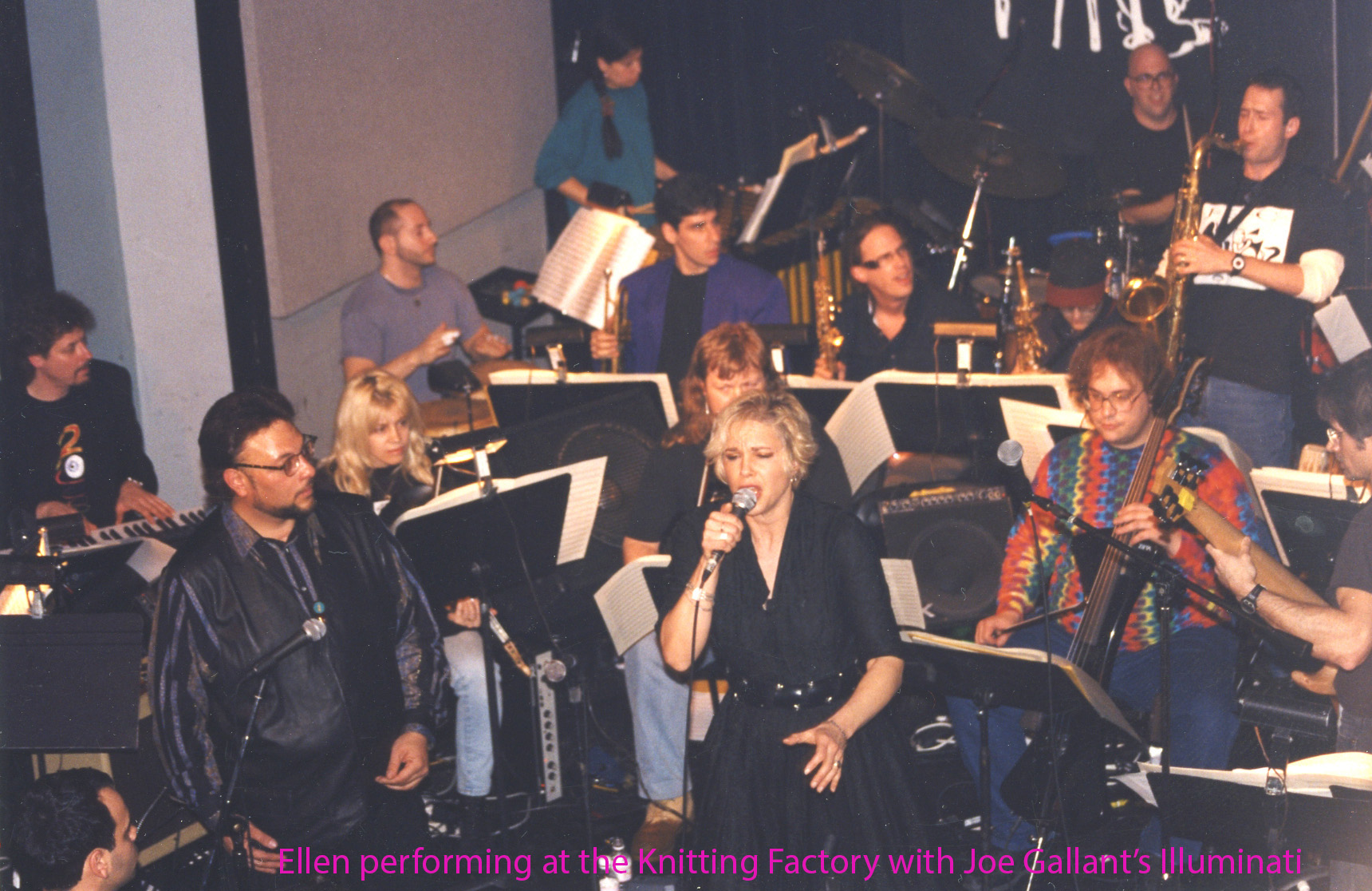 Ellen  with Joe Gallant, Knitting Factory named.jpg