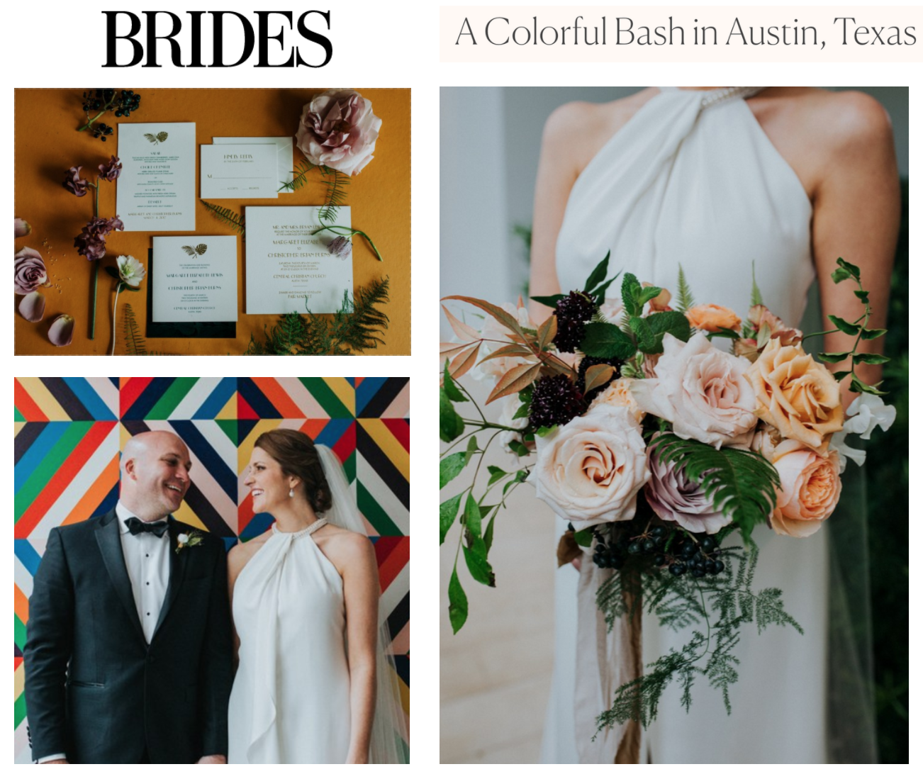 Brides | A Colorful Bash in Austin, Texas | Gypsy Floral and Events